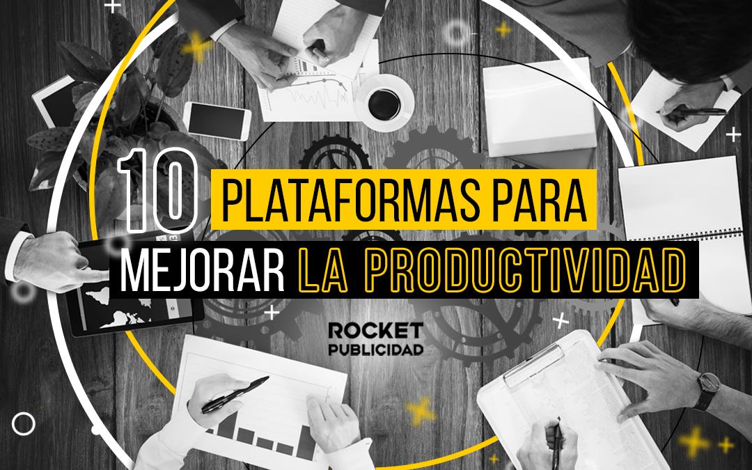 10 Plataformas de productividad online